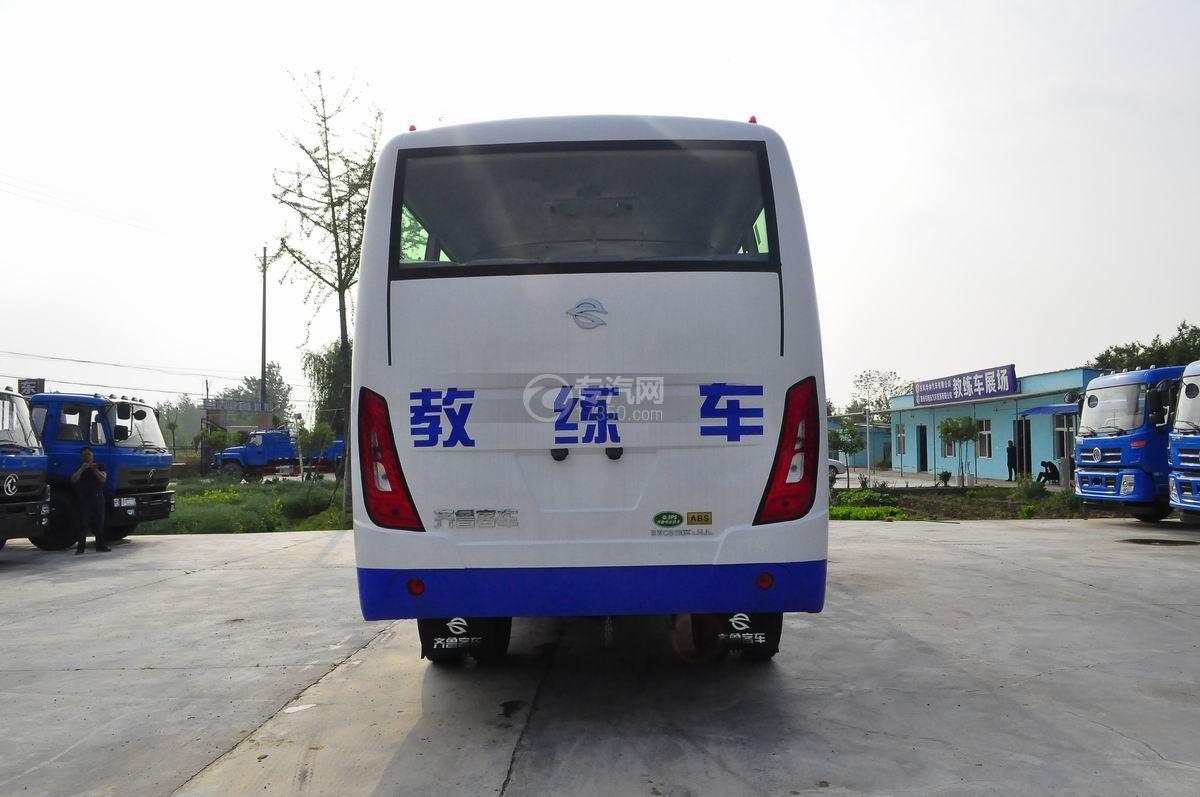 齐鲁23座客车教练车后面图