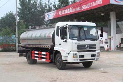 东风天锦单桥8m³鲜奶运输车