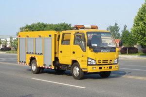 五十铃双排座救险车