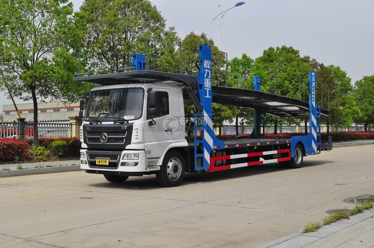 陕汽X6单桥轿运车图片