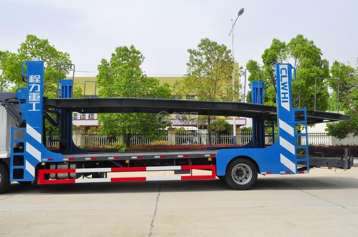 陕汽X6单桥轿运车上装