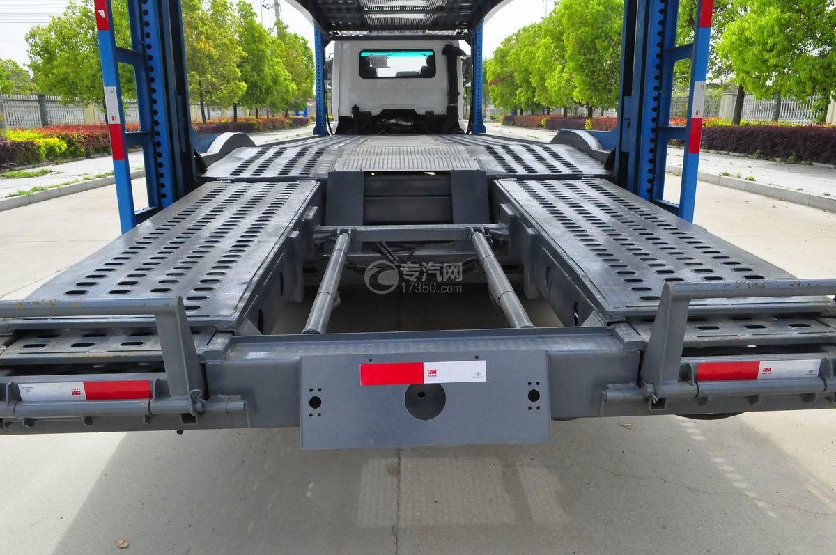 陕汽X6单桥轿运车运输板