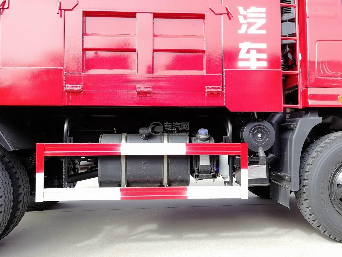 川交蓝牌单桥CJ3040D5AB自卸车油箱