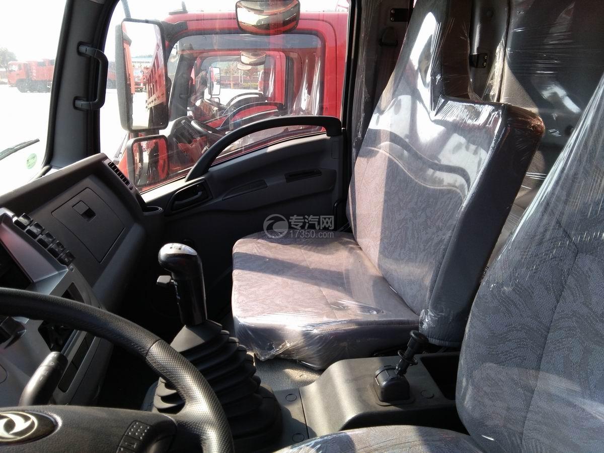 川交蓝牌单桥CJ3041D5AB自卸车驾驶室座椅