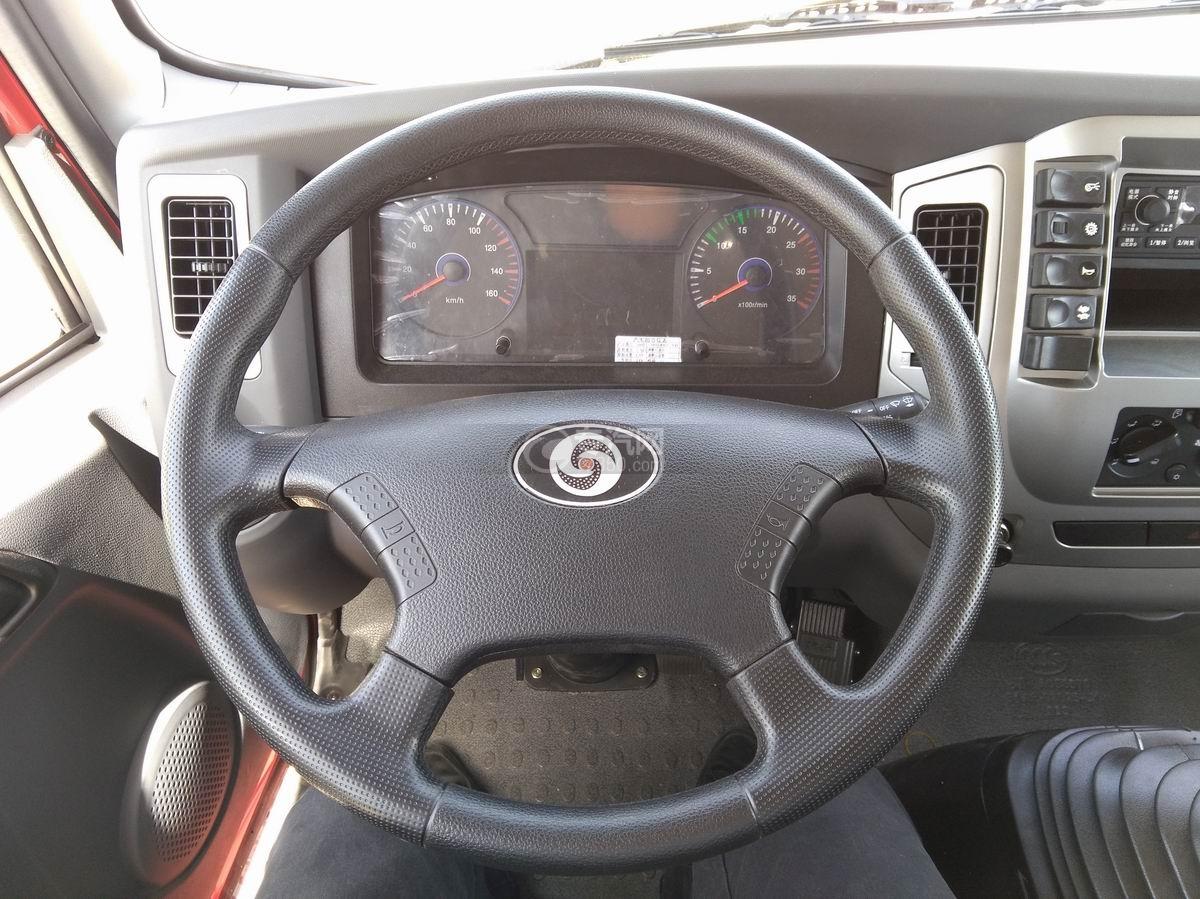 川交蓝牌单桥CJ3041D5AB自卸车驾驶室方向盘