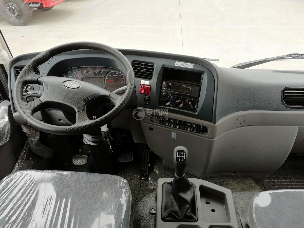 川交前四后四CJ3250D5CC自卸车中控台