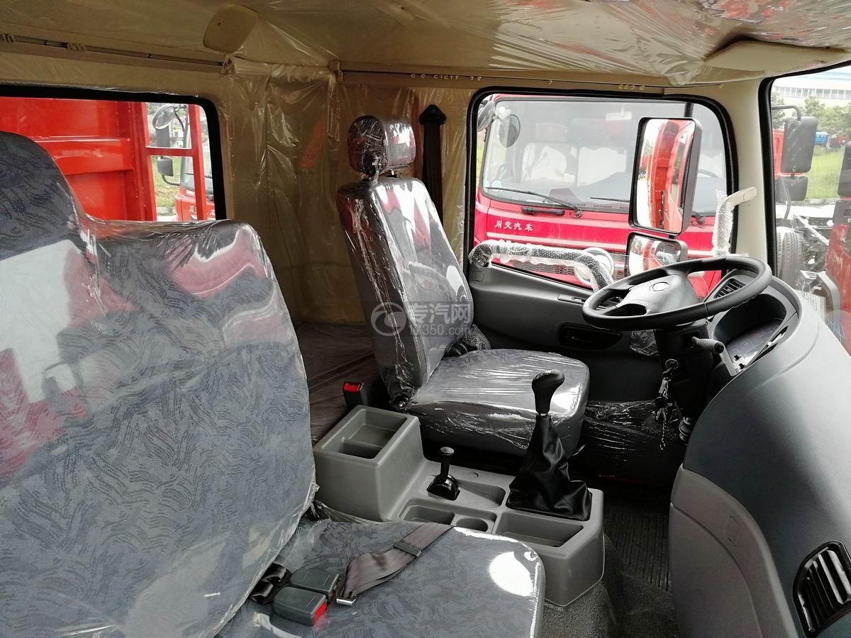 川交前四后四CJ3250D5CC自卸车驾驶座椅