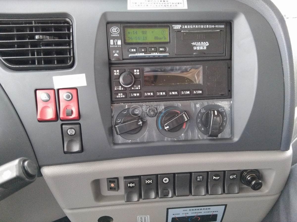 川交CJ3310D5FB前四后八自卸车驾驶室收音机