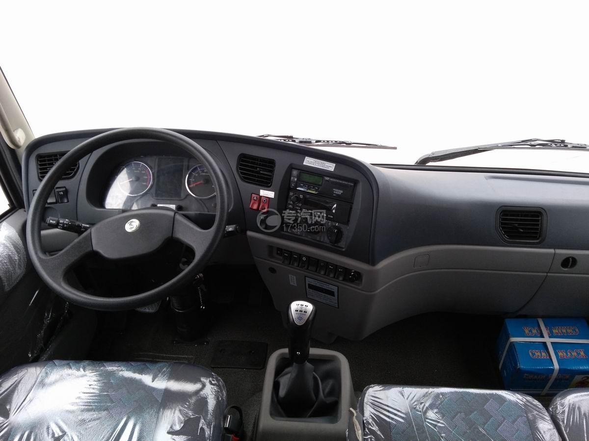 川交CJ3310D5FB前四后八自卸车方向盘中控台