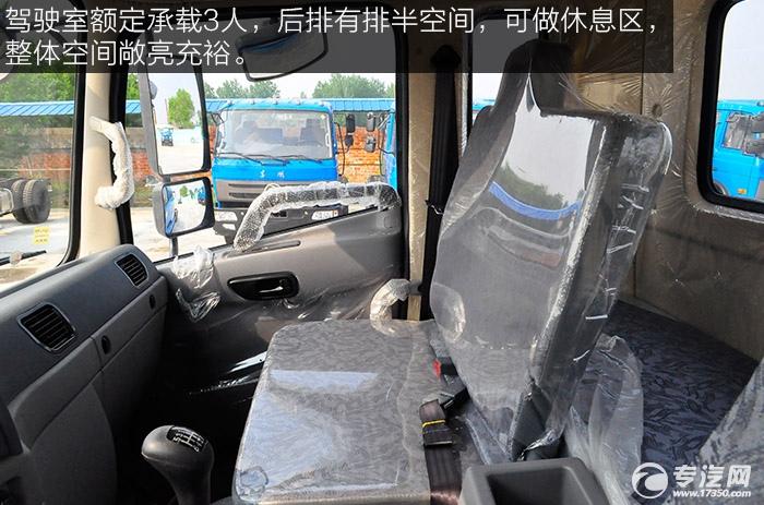 东风御虎平头九米教练车驾驶空间