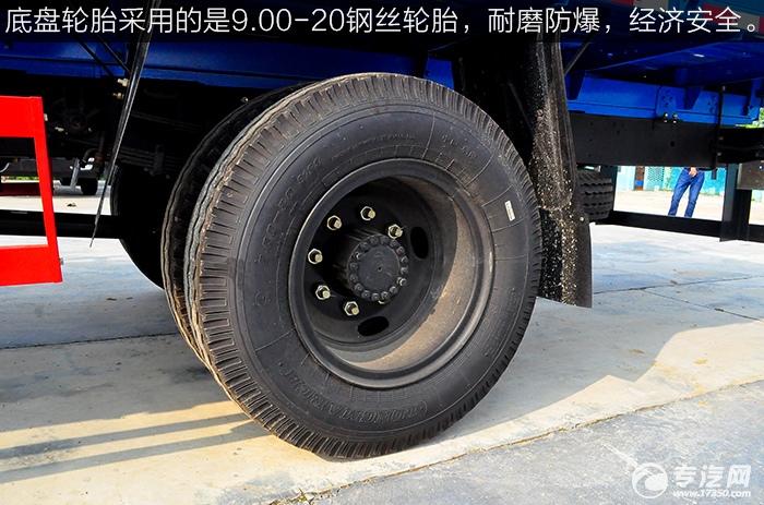 东风平头九米教练车轮胎