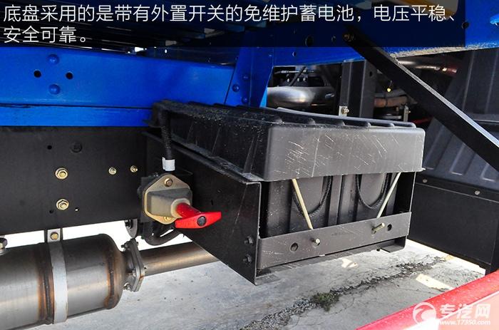 东风平头九米教练车蓄电池