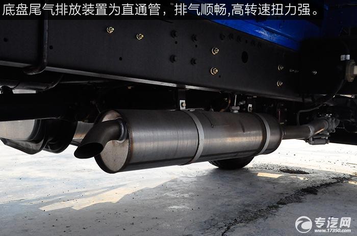 东风平头九米教练车尾气排放装置