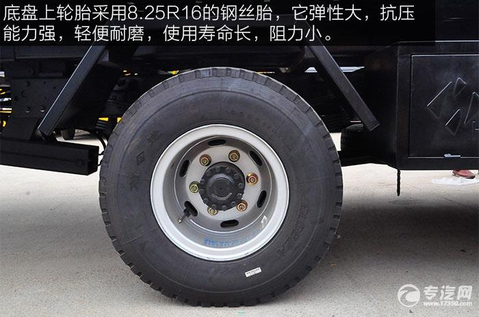 大运奥普力4400轴距清障车轮胎