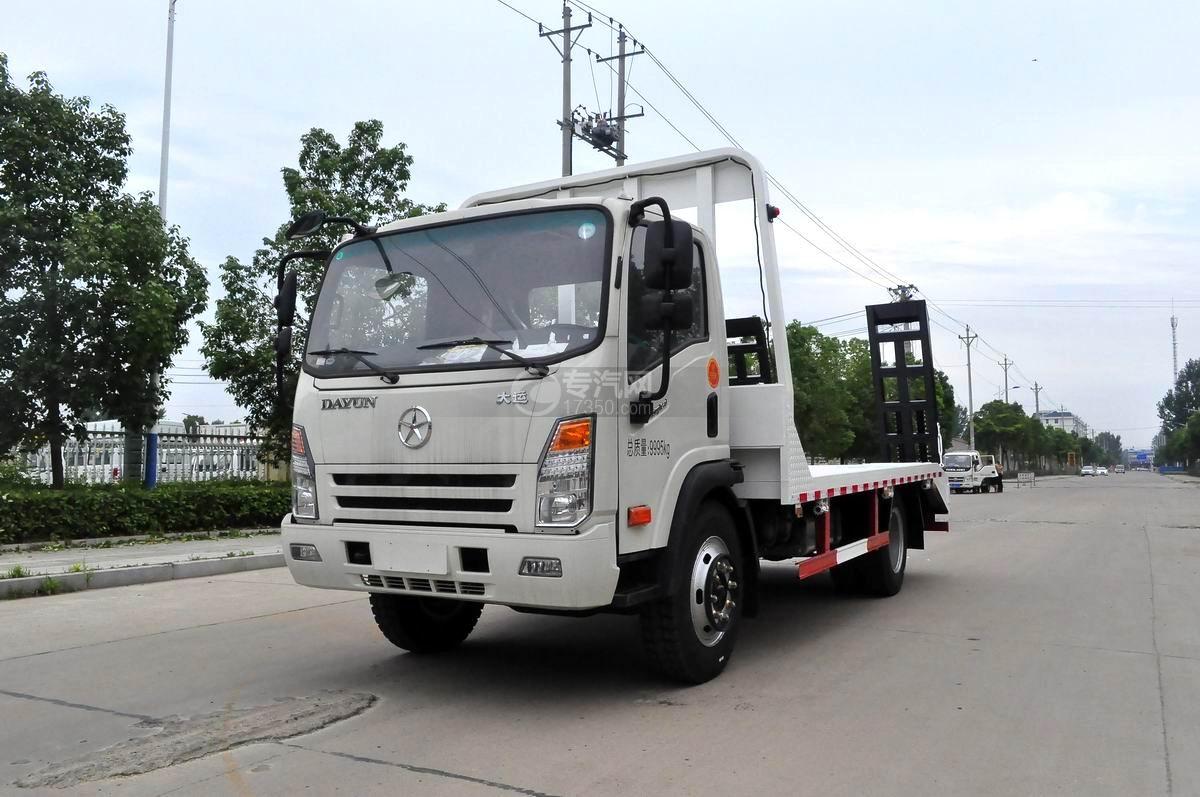 大运奥普力3900轴距平板运输车图片