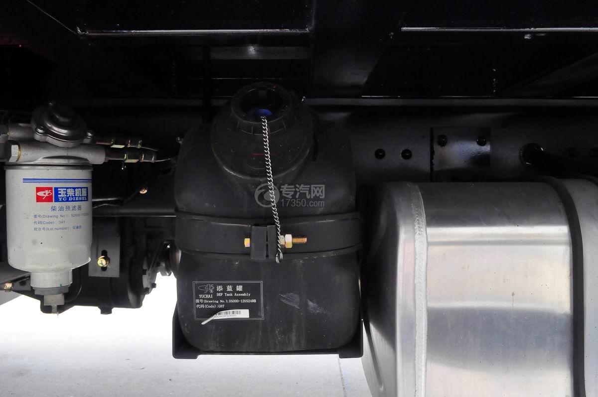 大运奥普力平板运输车尿素箱