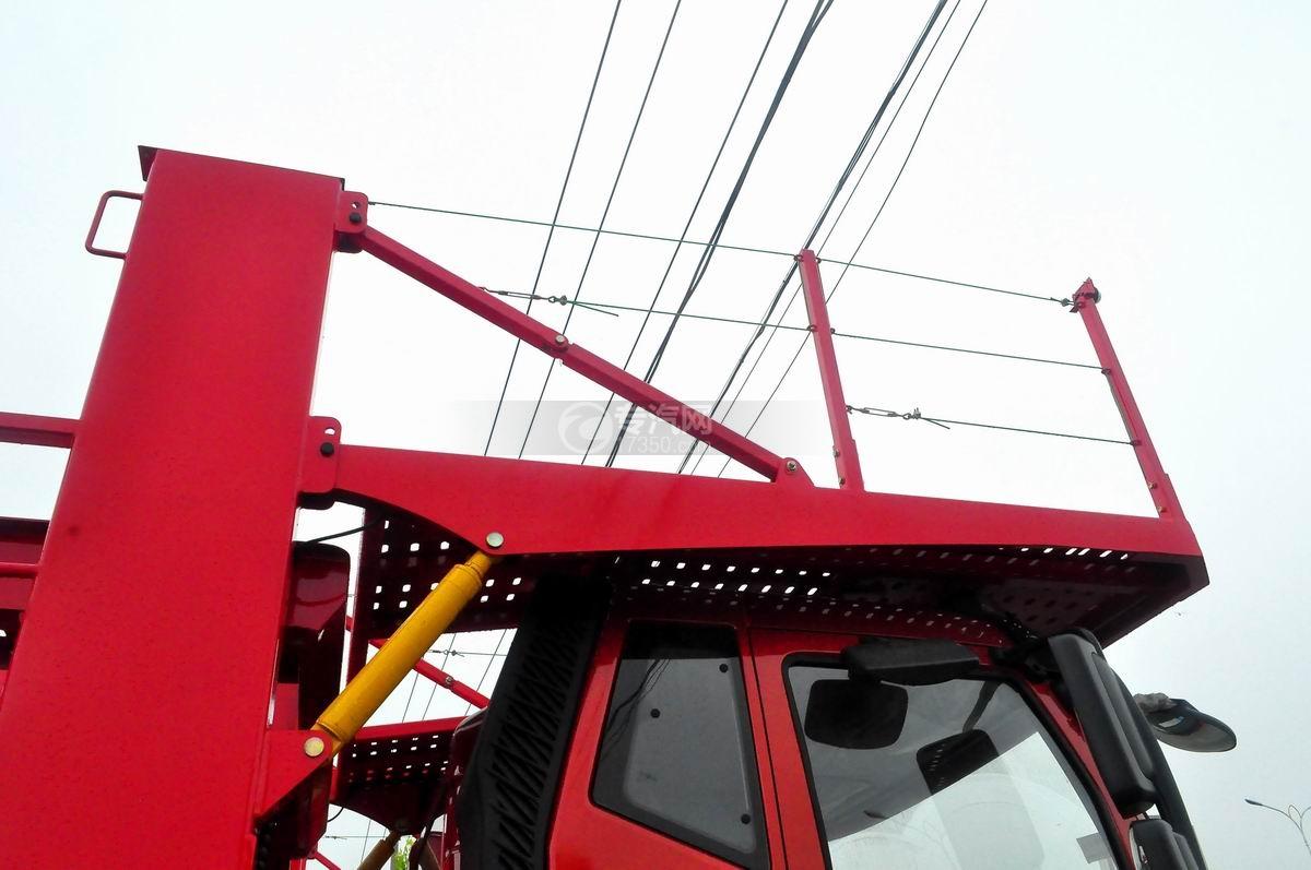 解放J6单桥轿运车二层板
