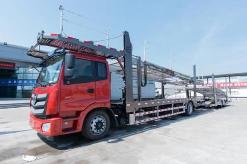 长久8353/8354中置轴车辆运输车,助力合规运输!
