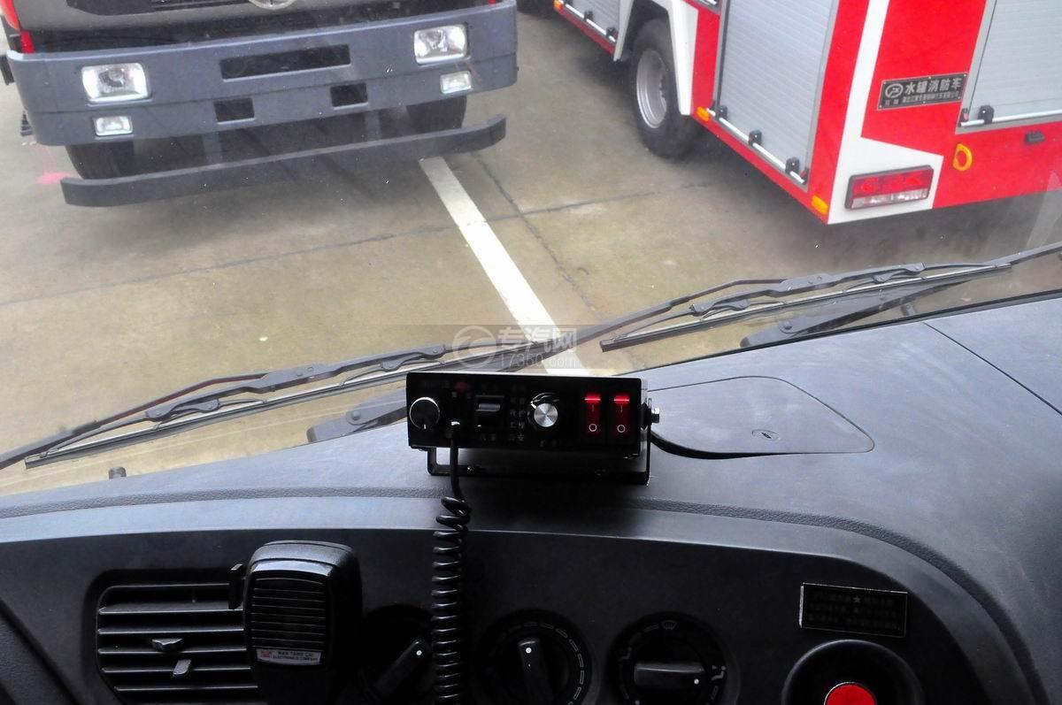 东风153双排水罐消防车喊话器
