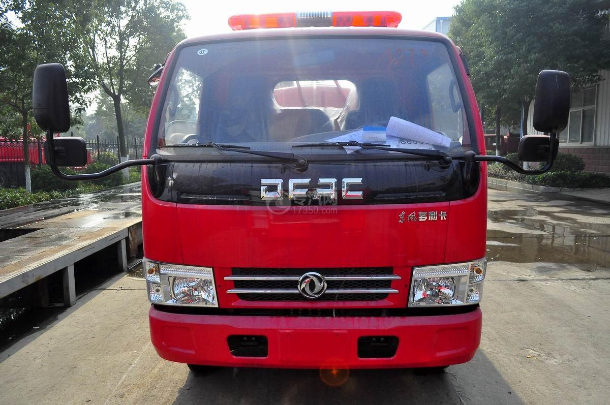 东风多利卡D6单桥水罐消防车图片