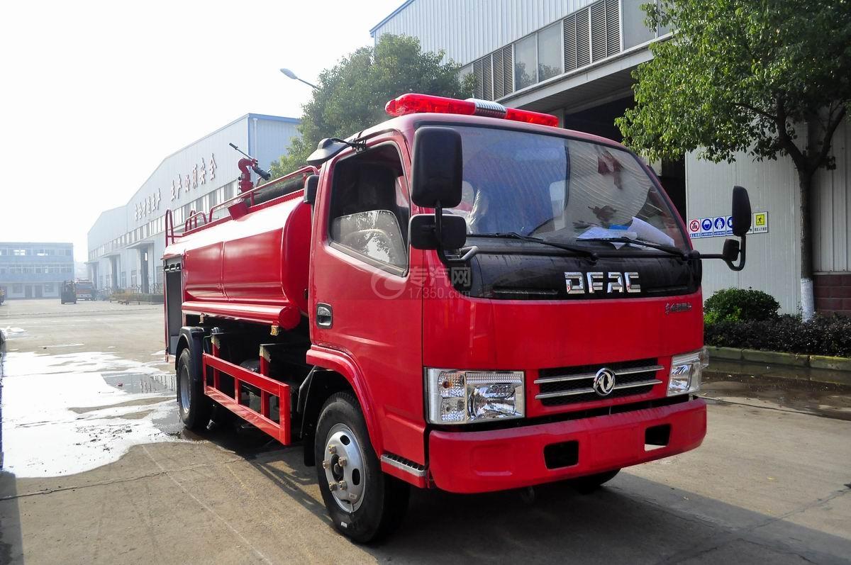 右45度∠图多利卡D6单桥水罐消防车