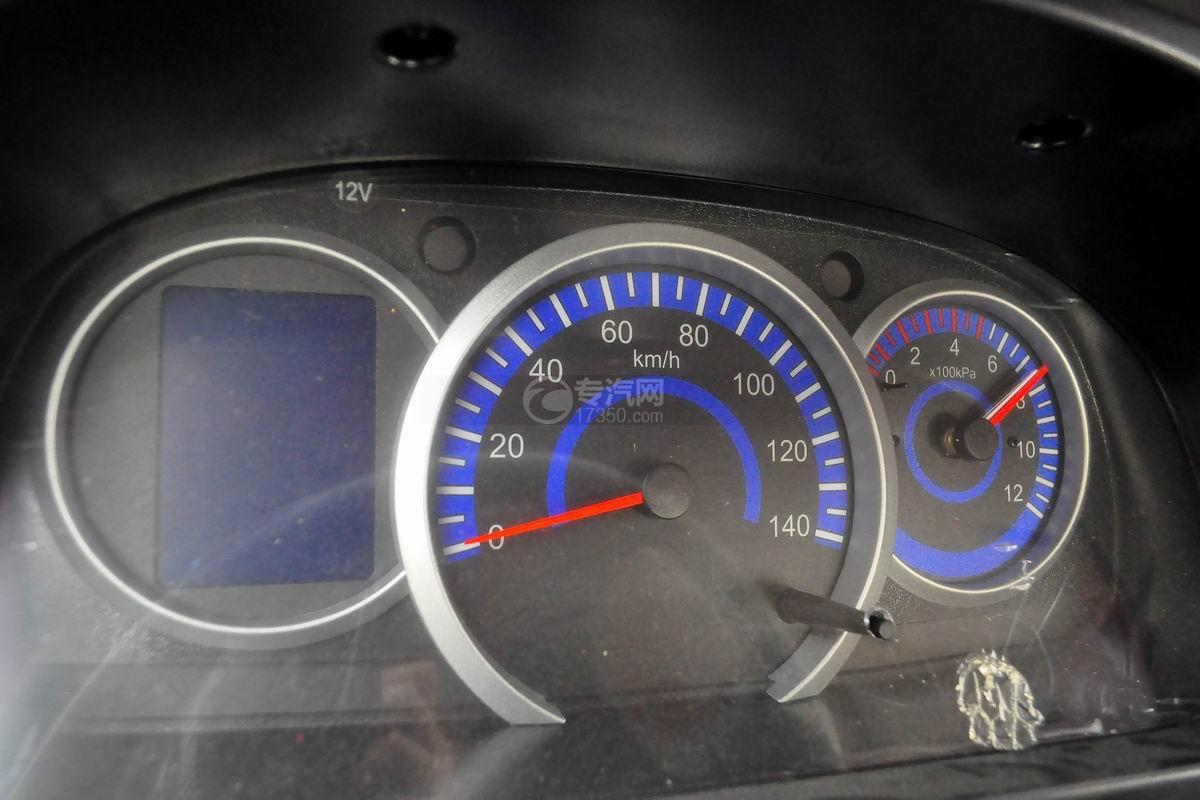 转速表图多利卡D6单桥水罐消防车