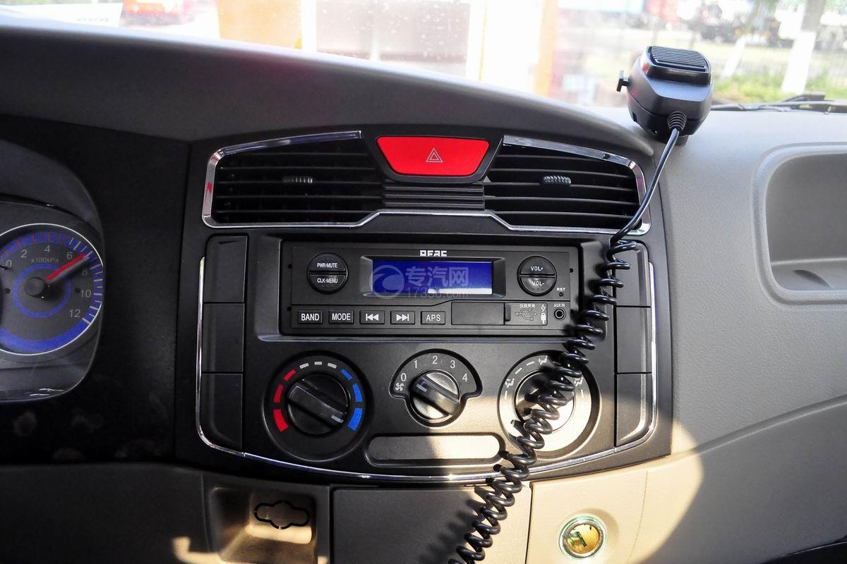 驾驶室内配置多利卡D6单桥水罐消防车
