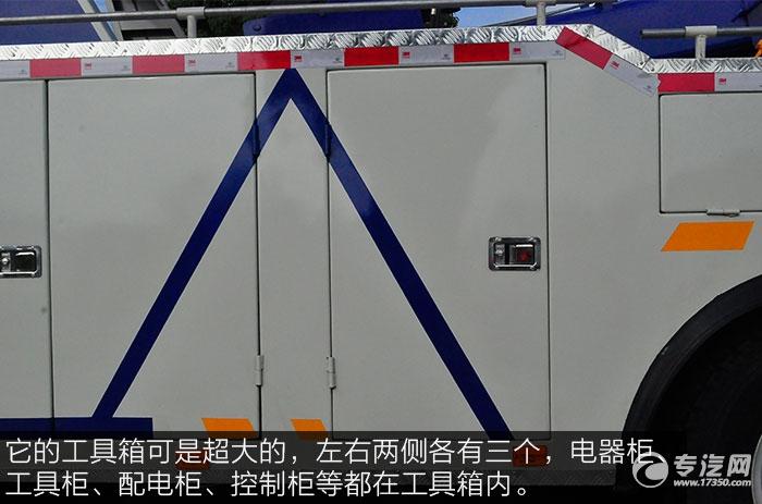 大运奥普力拖吊联体国五清障车工具箱