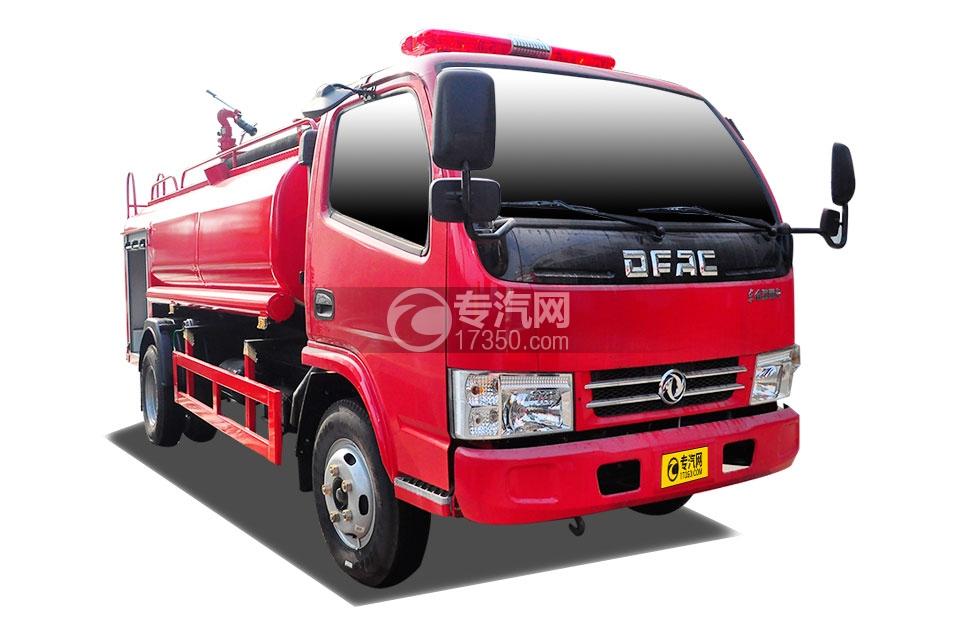 东风多利卡D6水罐消防车
