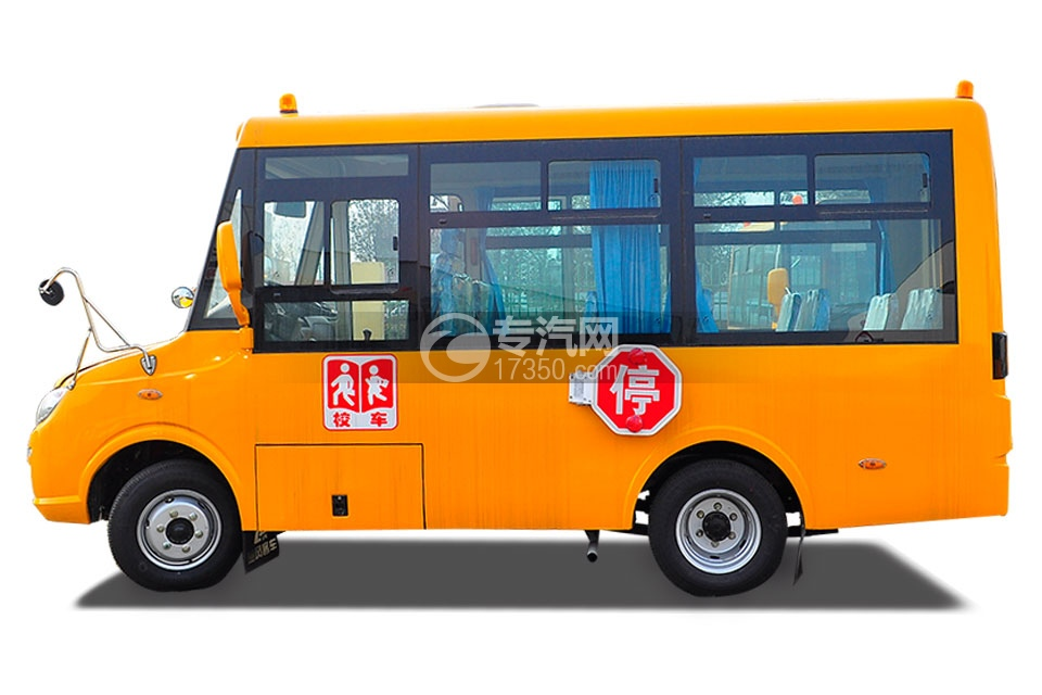 楚风10-18幼儿专用校车左侧图