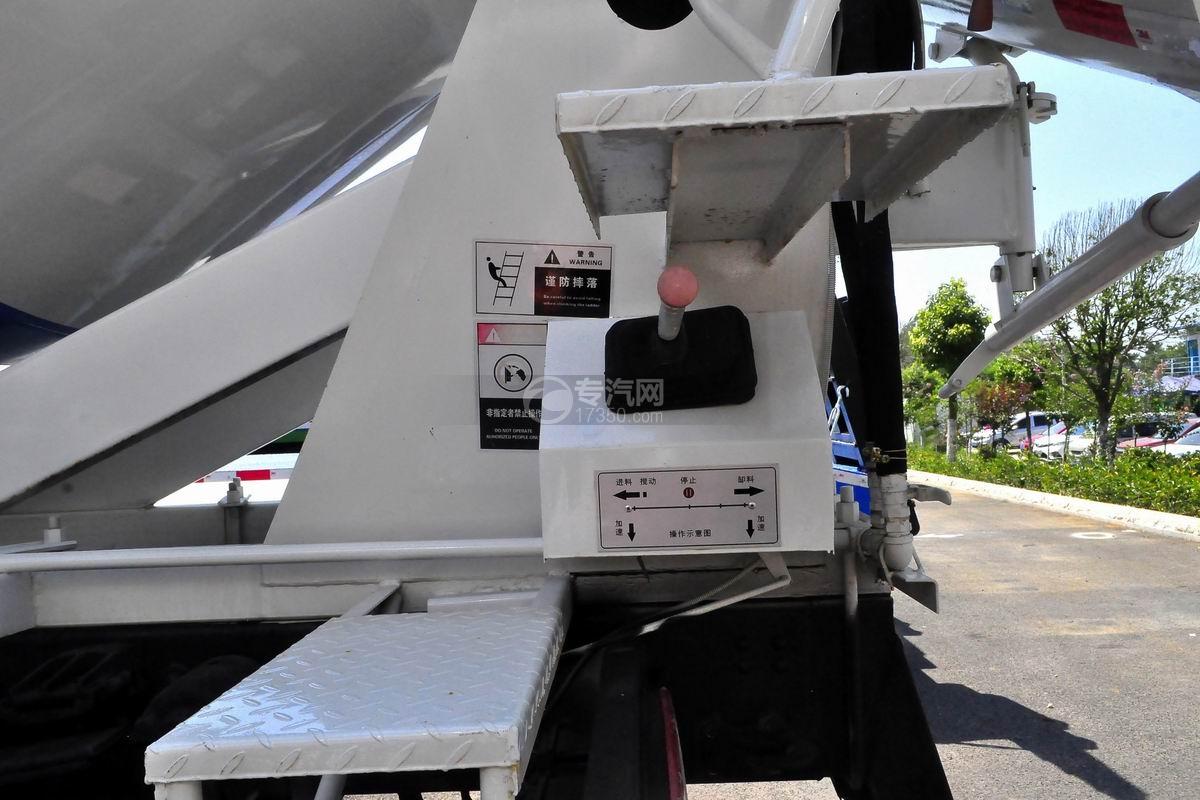 程力中卡单桥5-7方搅拌车搅拌操纵杆