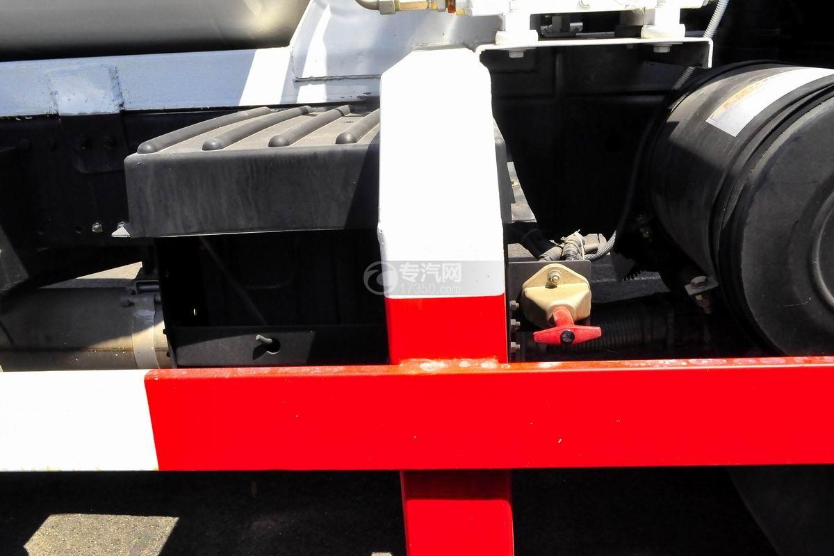 程力中卡单桥5-7方搅拌车蓄电池