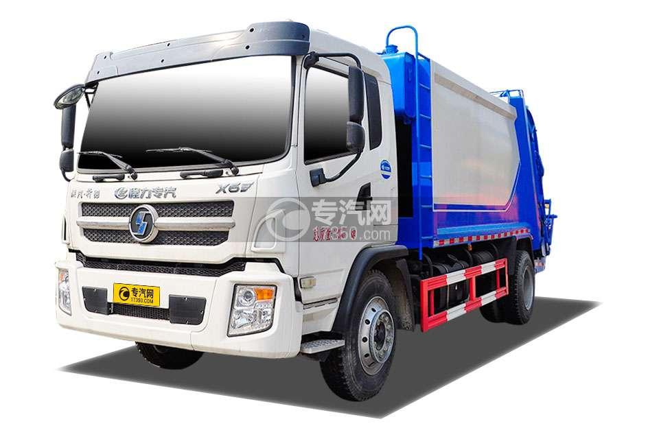 陕汽轩德X6国五压缩式垃圾车