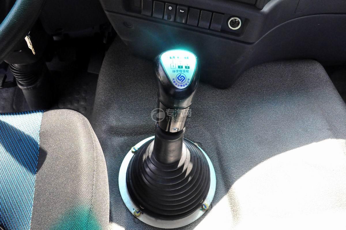 陕汽轩德X6中置轴轿运车档位操作杆