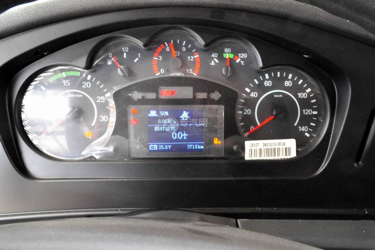 解放悍V小三轴带挂轿运车仪表盘