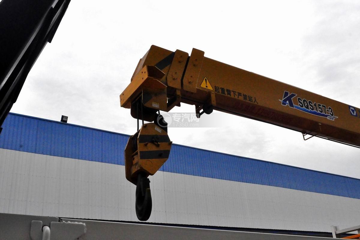 东风D913单桥徐工6.3吨直臂随车吊吊钩