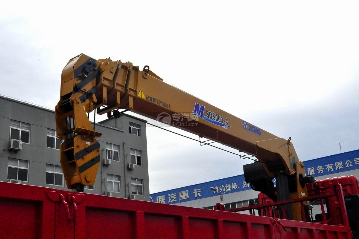 东风特商后双桥12吨直臂随车吊吊机