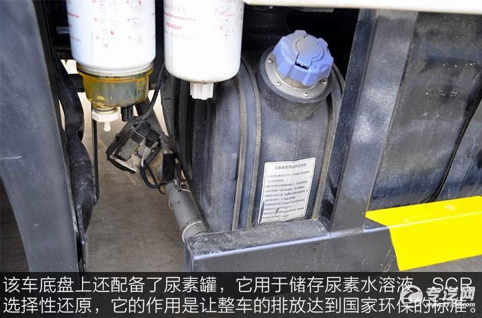 东风天锦吸尘车尿素罐