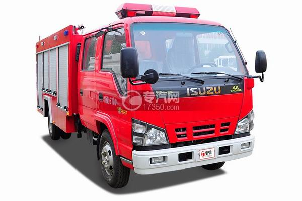 分辨水罐消防车与泡沫消防车的小技巧