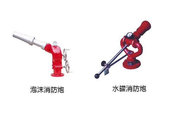 泡沫消防炮与消防水炮