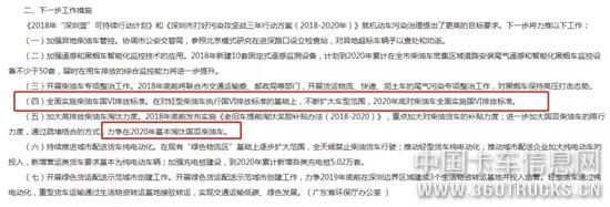 2020年淘汰国三柴油车,全面实施国六标准!深圳终打响第一枪!