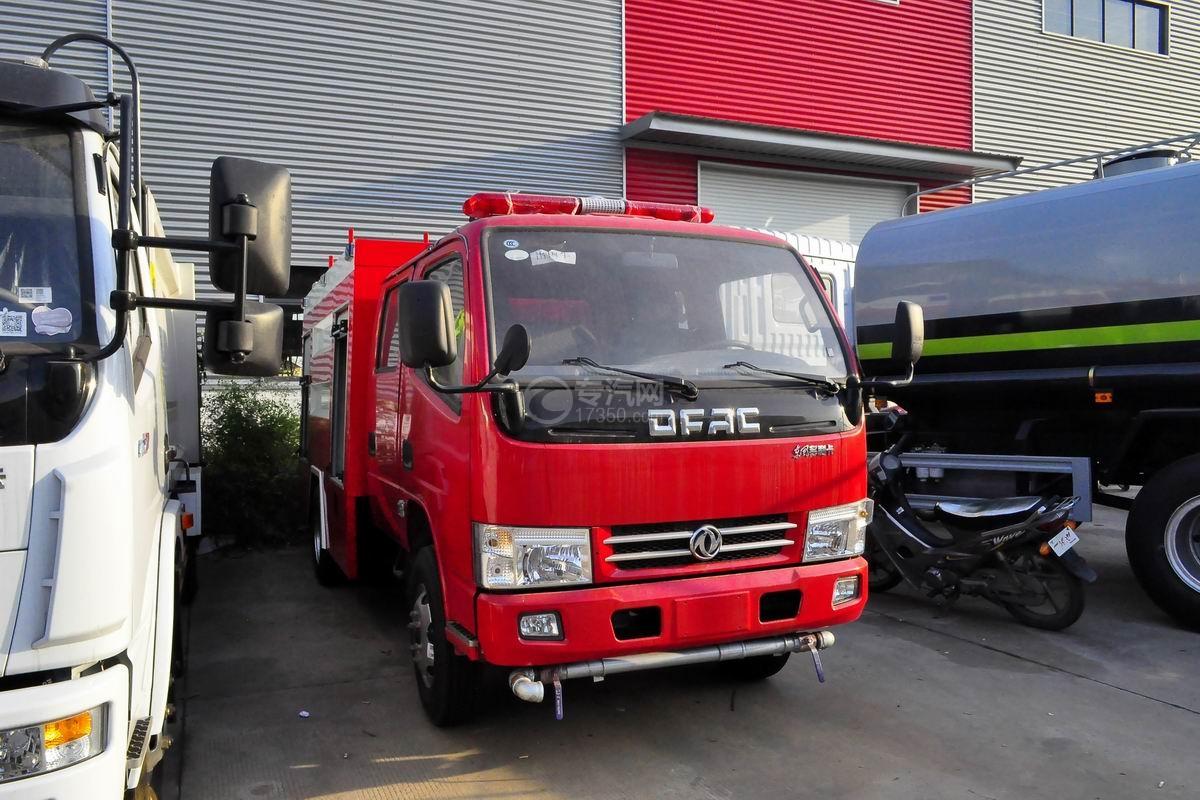 东风小多利卡消防车图片
