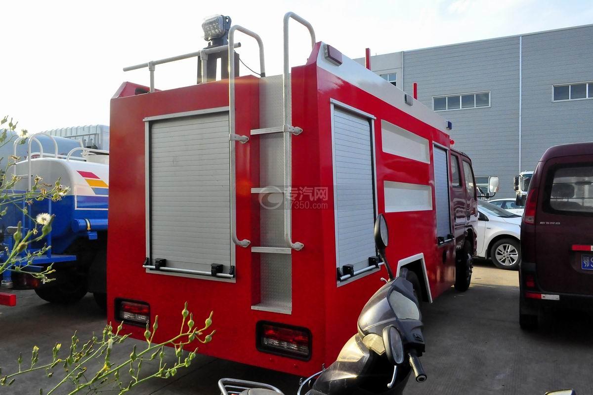 东风小多利卡消防车侧面图1