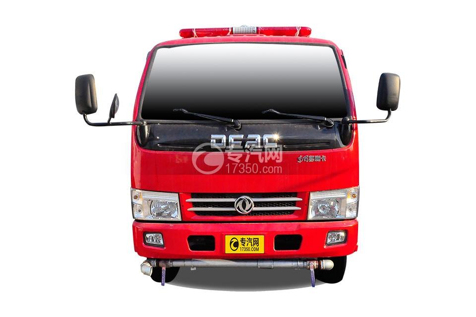 东风小多利卡消防车正面图