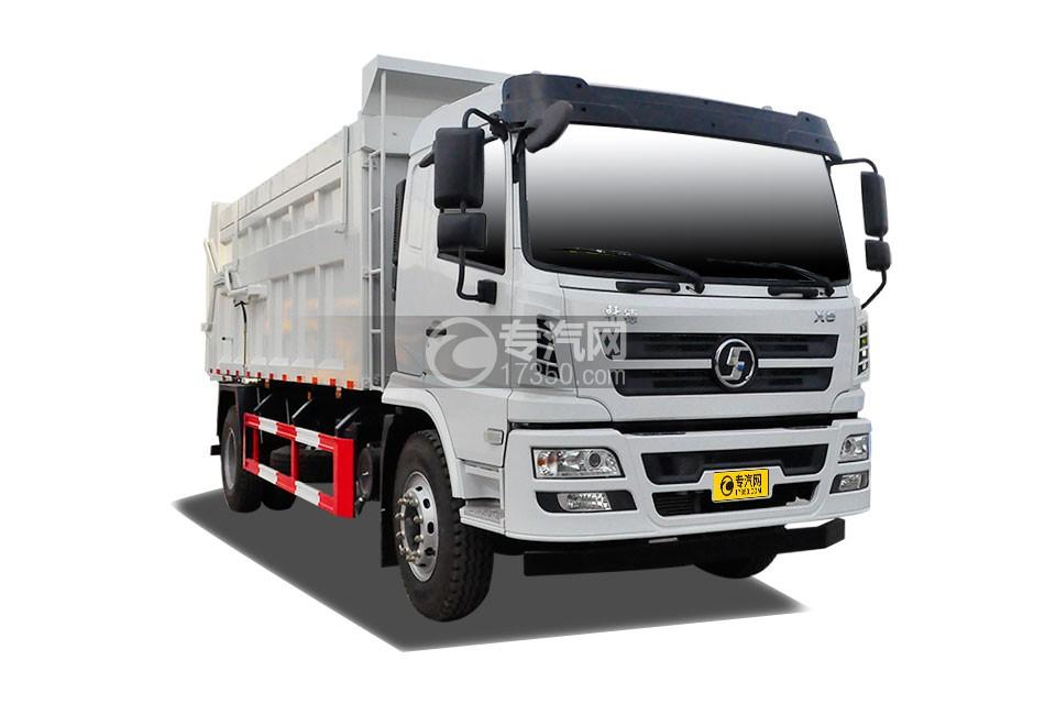陕汽轩德X6压缩式对接垃圾车