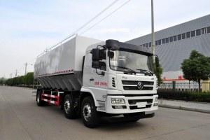 陕汽轩德X6小三轴散装饲料运输车 30方图片