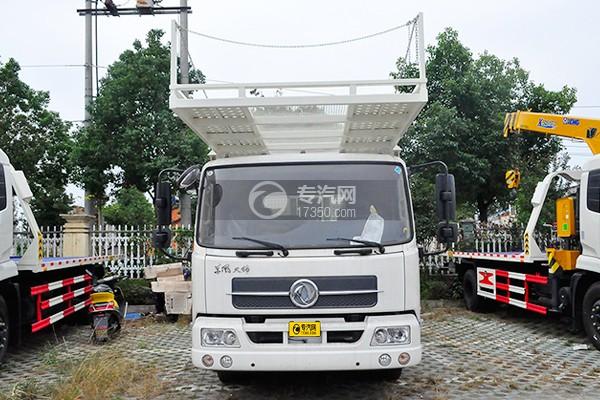 东风天锦单桥轿运车正方位图