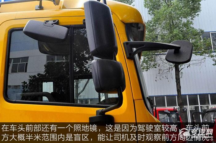 江淮格尔发K5L平板运输车照地镜