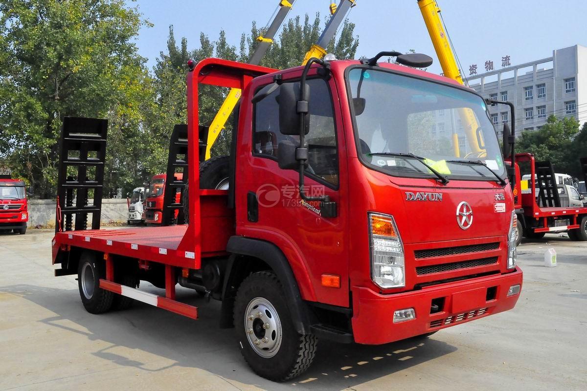 大运奥普力3550轴距平板运输车图片