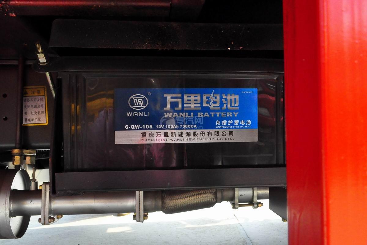 大运奥普力3550轴距平板运输车蓄电池